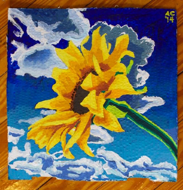 Alex Conrad sunflower study no3