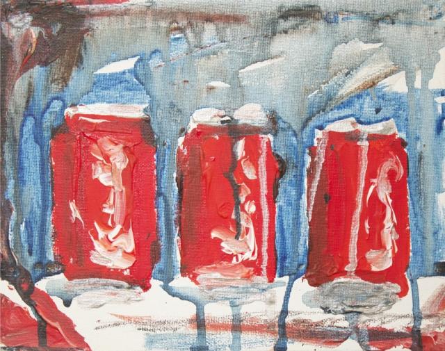 Alex Conrad 3 Coke cans