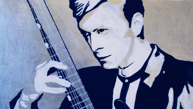 Alex Conrad David Bowie painting 1