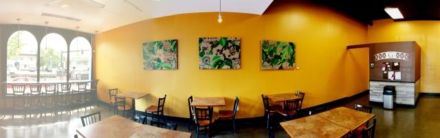Alex Conrad coffee triptych onsite