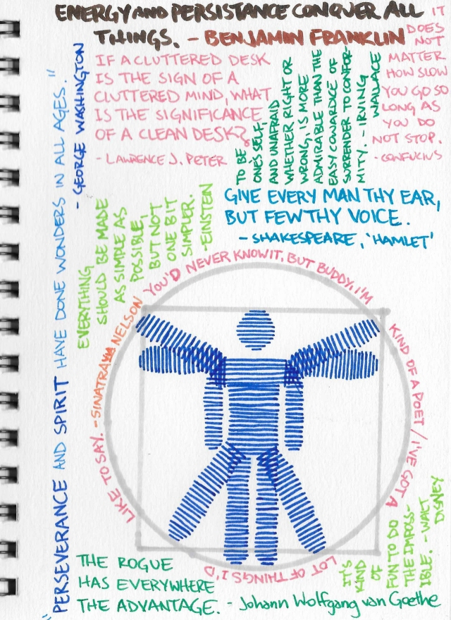 quotes Vitruvian Man 1