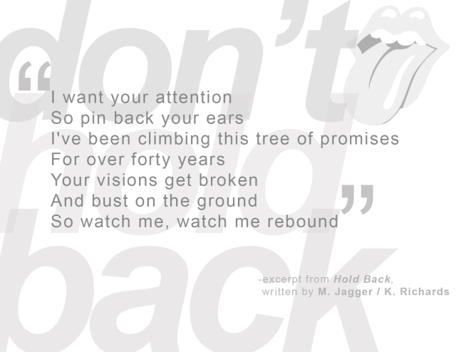 Hold Back excerpt
